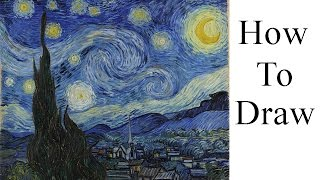 How To Draw | Starry Night