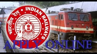 How to Apply Online for RRB (Railway) 2016 2017 Video