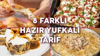 Hazır Yufkadan Sadece Börek Yapılmayacağının Kanıtı 8 Farklı Yufkalı Tarif – Yemek Tarifleri