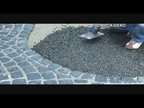 Joint de pav rompox deko le durcisseur d coratif for Pose pave exterieur