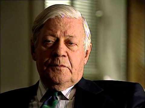 Interview Mit Helmut Schmidt
