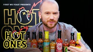 Sean Evans Reveals the Season 9 Hot Sauce Lineup | Hot Ones