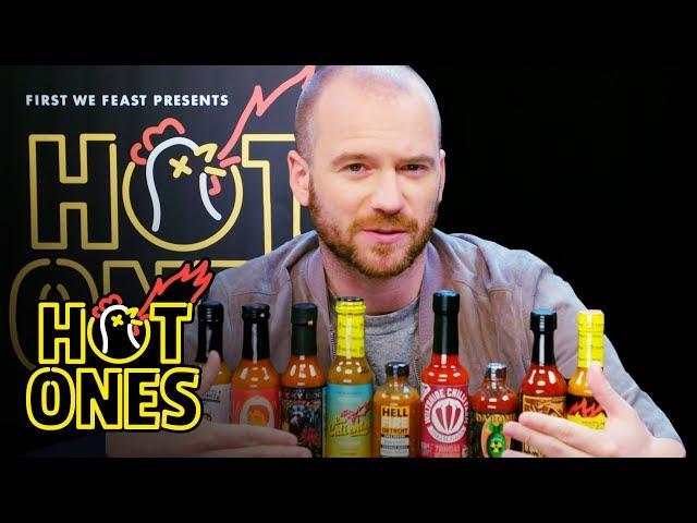 Sean Evans Reveals the Season 9 Hot Sauce Lineup   Hot Ones