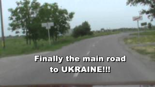 Driving To Russia 2012: Driving from Budapest to the border Zahony (Hungary) / Chop (Ukraine)
