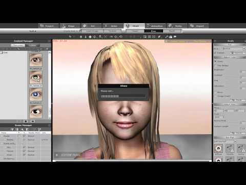 iClone5 Tutorial - Character Customization