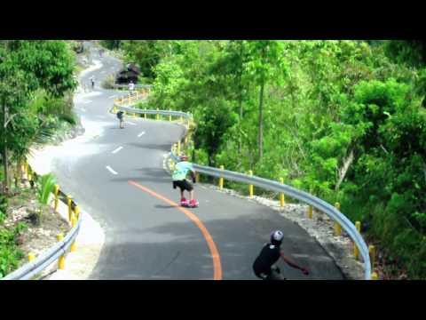 The 5th Visayan longboarding Trilogy Siquijor Freeride