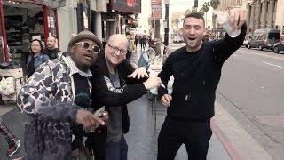 Biz Nasty + Rear Admiral Take On The Hollywood Walk Of Fame - West Coast Wagon Tour