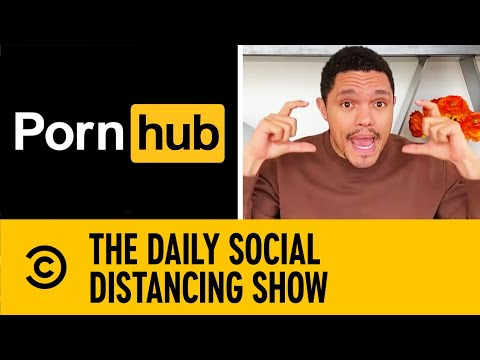 PornHub Donates 50,000 Masks To NYC Healthcare Workers | The Daily Show With Trevor Noah