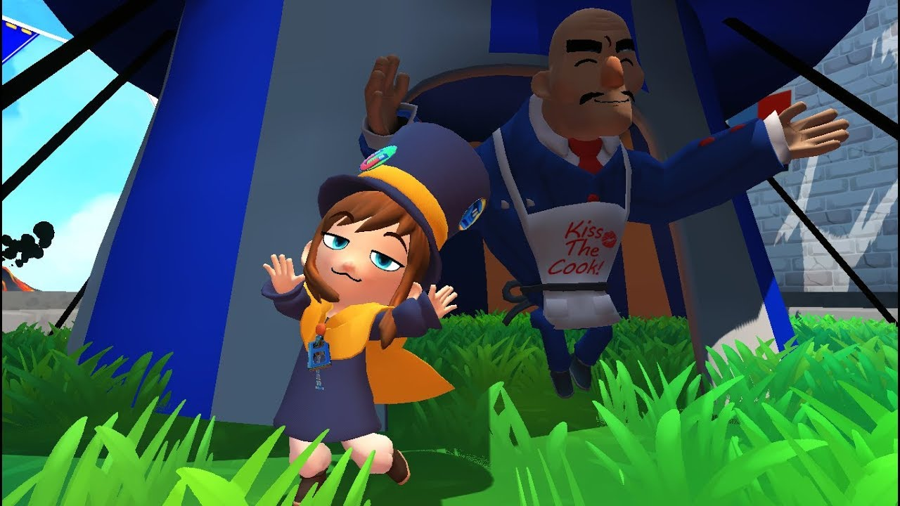 A Hat In Time Hat Kid Dance Youtube
