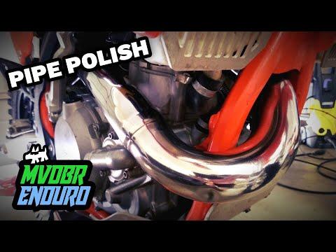 KTM Header Pipe Polish