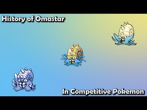 How GOOD Was Omastar ACTUALLY? - History Of Omastar In Competitive Pokemon (Gens 1-7)
