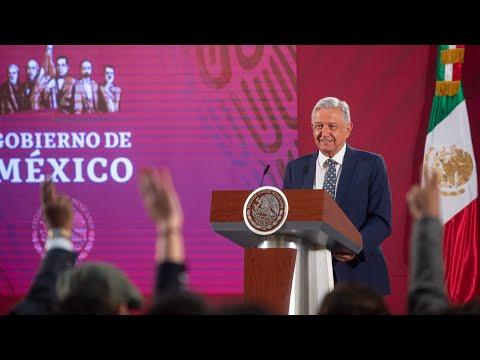 Riesgo de contagio por coronavirus es bajo en México. Conferencia presidente AMLO