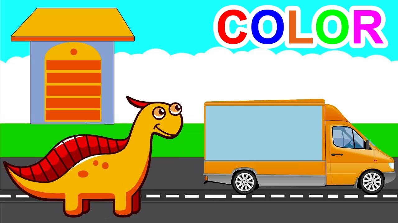 learn colors with dinosaurs for children learn colours with