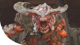 DOOM 4 - Cyberdemon Boss Fight