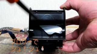 二眼レフカメラ「ローライコードVb」のフィルム装填の件