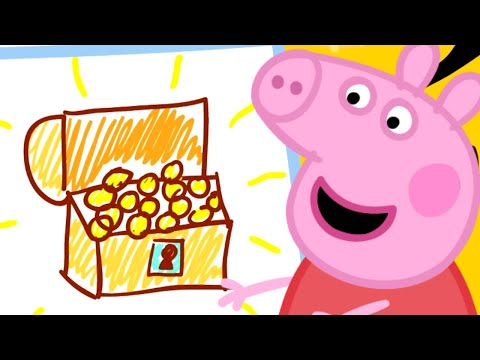 Peppa Pig Official Channel | Danny's Halloween Pirate Party