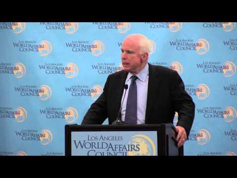 Senator John McCain on America's Role in the World
