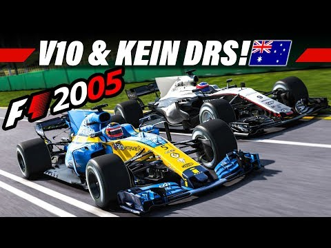 F1 2005 MOD KARRIERE #1 – V10 & Kein DRS! | LAST TO FIRST Let's Play Formel 1 4K Gameplay German
