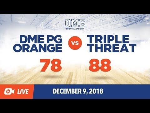 DME PG Orange Vs. Triple Threat