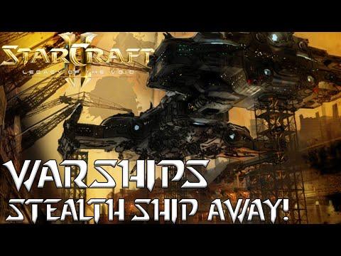 Warships - Stealth Ship Away! - Starcraft 2 mod
