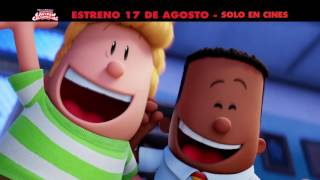LAS AVENTURAS DEL CAPITAN CALZONCILLOS | Estreno en Centro América 17 DE AGOSTO | Solo en cines
