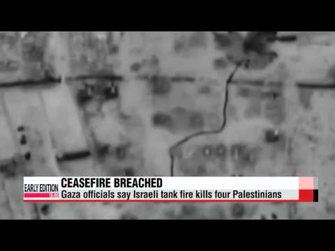 Israel breaches 72-hour ceasefire, tanks attack