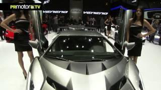 Nueva Lamborghini Veneno en el Salon de Ginebra 2013 MotorShow - PRMotor TV Channel