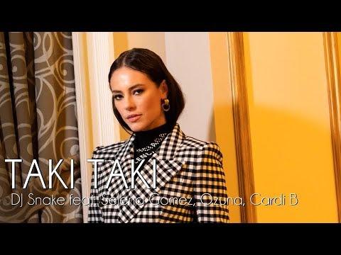 Taki Taki - DJ Snake feat Selena Gomez Ozuna Cardi B  A Dona do Pedaço
