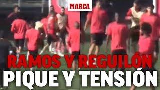 A Ramos se le cruzan los cables:  ¡doble pelotazo a Reguilón!
