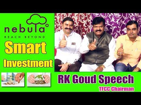 Nebula Dwaraka Smart Investment | Prathani Ramakrishna Goud Speech | Bhagwan | Hanuman | TFCC