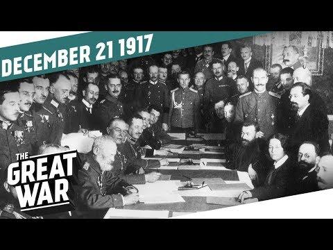 The Armistice of BrestLitovsk I THE GREAT WAR Week 178