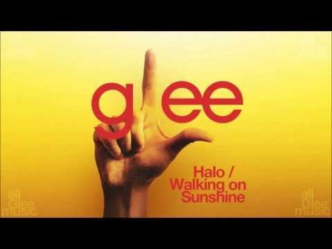 Halo / Walking On Sunshine | Glee [HD FULL STUDIO]