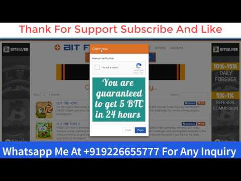 Get 50k To 100k Satoshi In One Day Very High Paying Bitcoin Faucet
