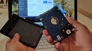 HP Envy x360 M6 aq105dx How to change the HDD for an SSD
