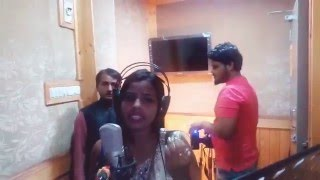 Apna Samachar: Bhojpuri Singer Kiran Sahani Live Song Recording And Interview
