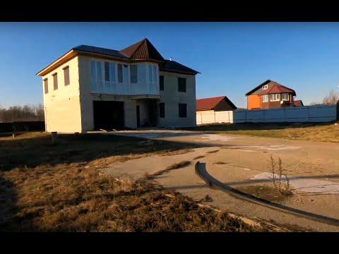 Обзор на  новый  дом рядом с рекой  в Рузе!!