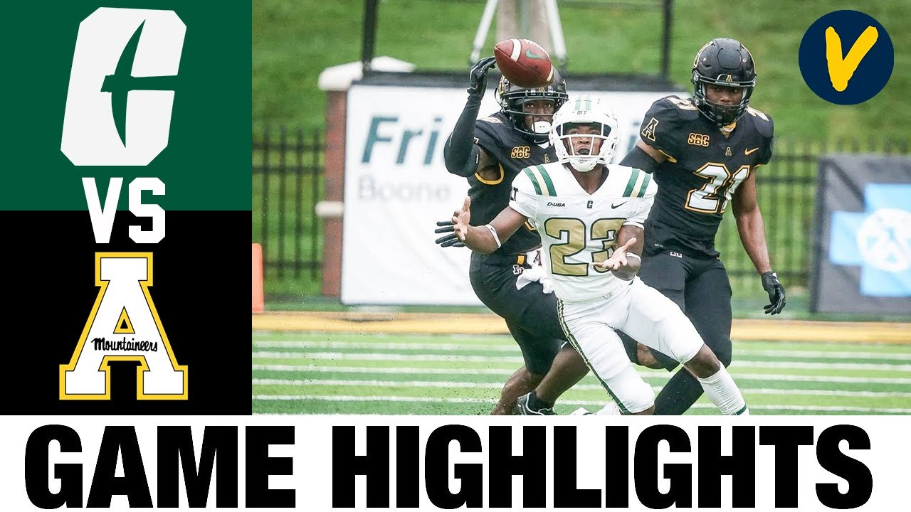 Charlotte vs Appalachian State Highlights | Wk 2 College Football Highlights | 2020 College Football