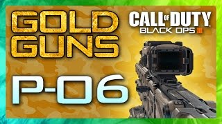 GOLD CAMO GUIDE - P-06! | Black Ops 3 Diamond Snipers Tutorials