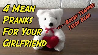4 Super Mean Pranks You Can Do On Your Girlfriend For Valentine's Day!