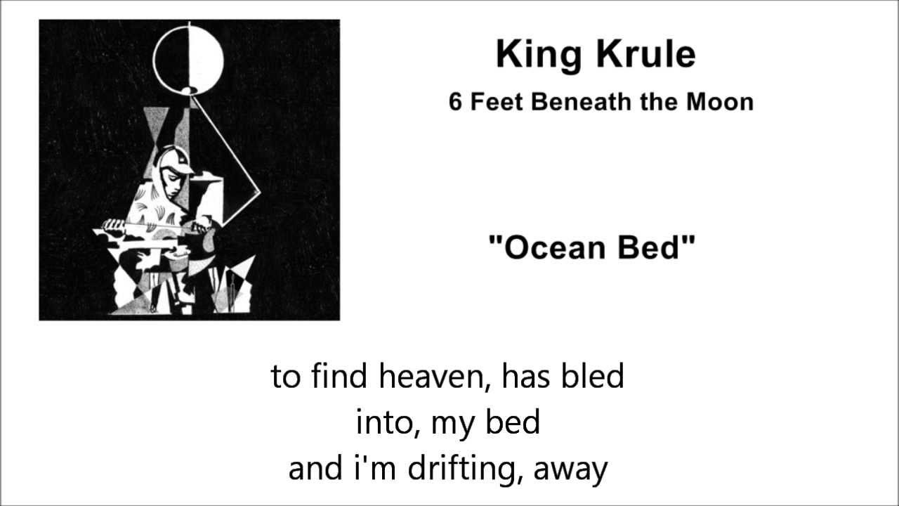 Ocean Bed King Krule Lyrics