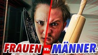 FRAUEN vs MÄNNER - Küchen-Battle!