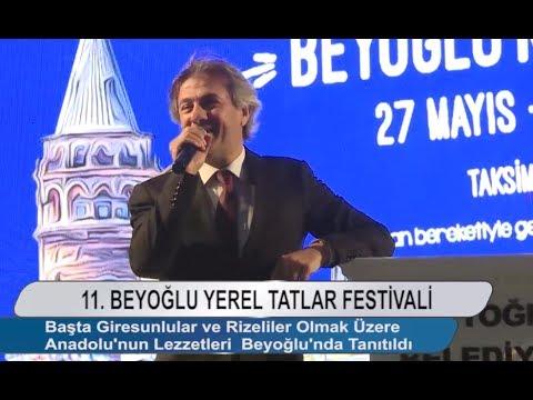 Beyoğlu 11. Yerel Tatlar Festivali