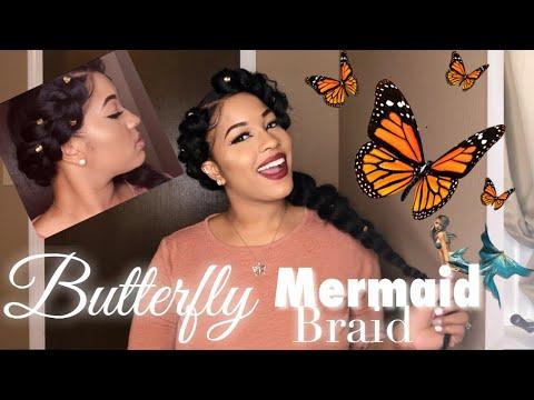 How To: Butterfly Braid 🦋 Mermaid Braid 🧜♀️