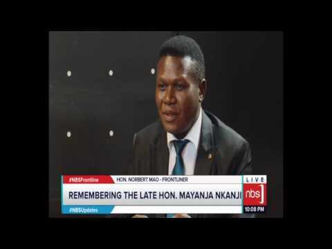 Perry Alitua, Mathias Mpuga, Ofwono Opondo, Nobert Mao, Charles Rwomushana on Frontline