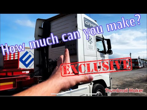 HOW MUCH DOES A HGV DRIVER IN IRELAND MAKE?