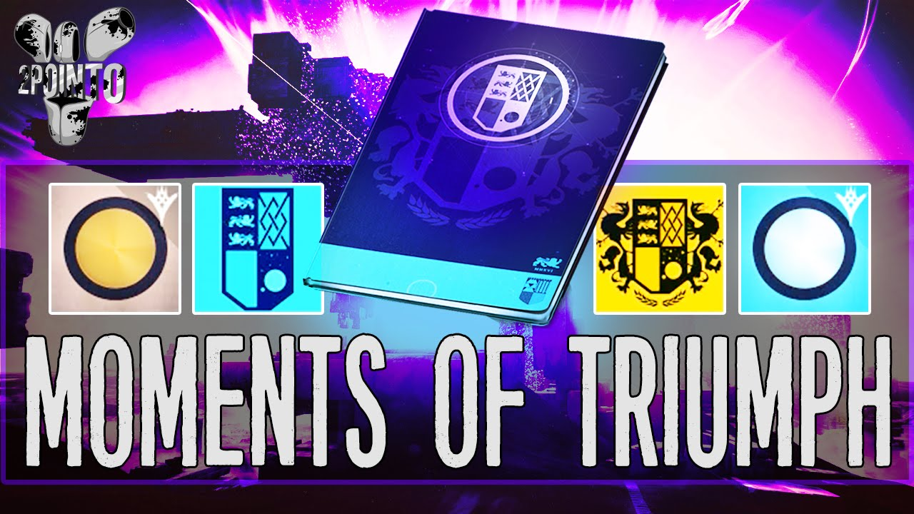 destiny: moments of triumph year 2 – shaders and emblems – bungie