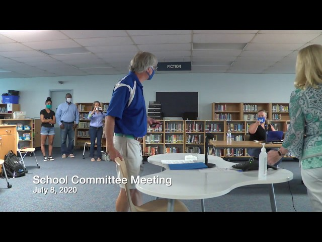Mashpee School Committee 07 08 20
