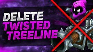 Trzeba usunąć Twisted Treeline