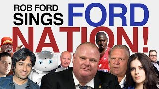 """Rob Ford Sings """"Ford Nation!"""""""
