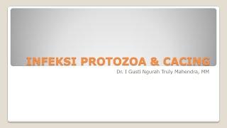 Materi Kuliah D3 Rmik Soetomo Smt 4 2020 5 Infeksi Protozoa Dan Cacing